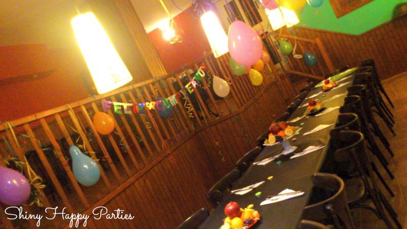 Shiny happy parties mallorca deco sencilla para un - Fiesta sorpresa de cumpleanos para nina ...