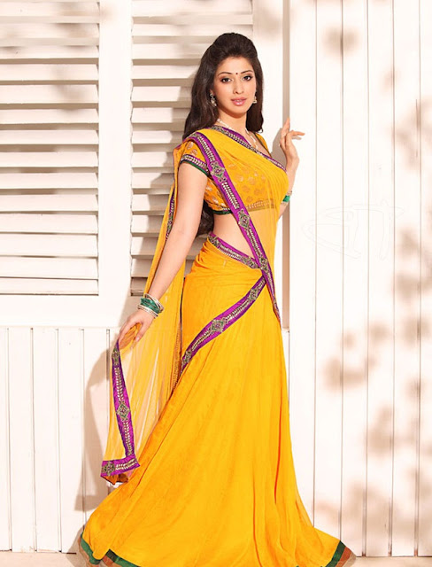 Lakshmi Rai in yellow