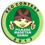 SEO Contest Pilkada Magetan 2013