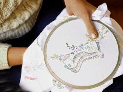 bordados dicas de artesanatos