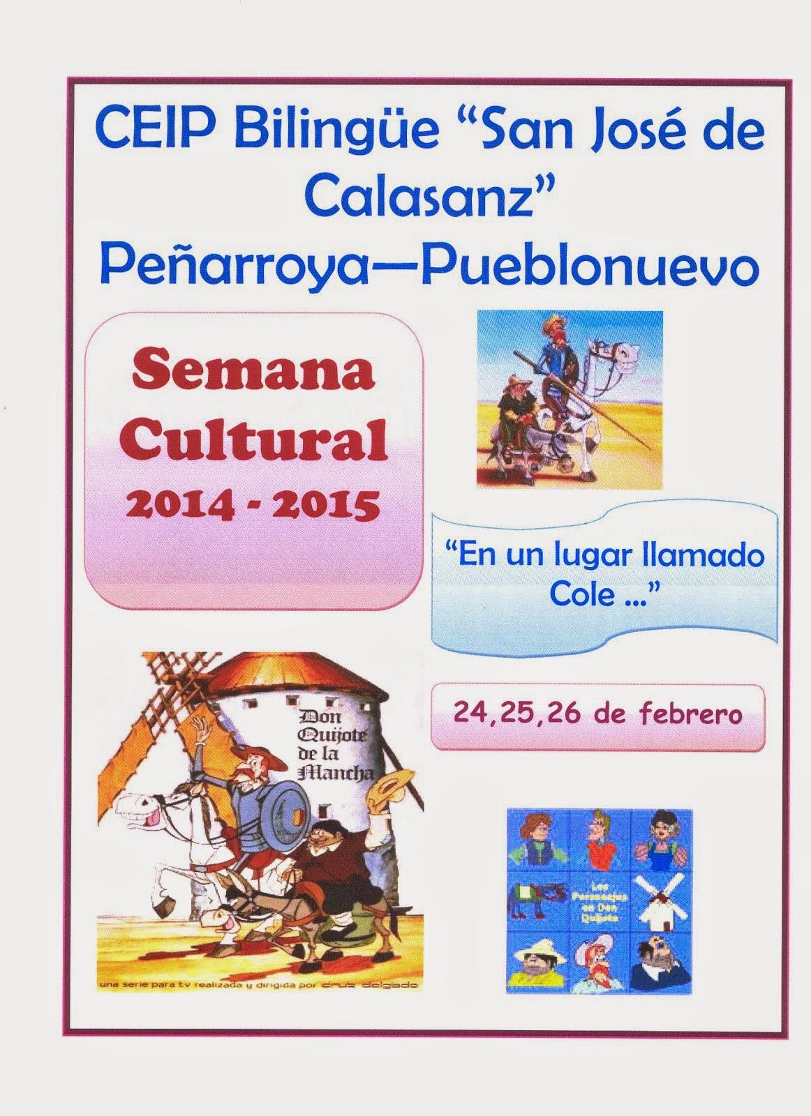 Semana Cultural ´15
