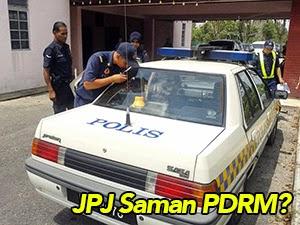 Thumbnail image for JPJ Mengganas, Kereta Peronda MPV Polis Kena Saman?