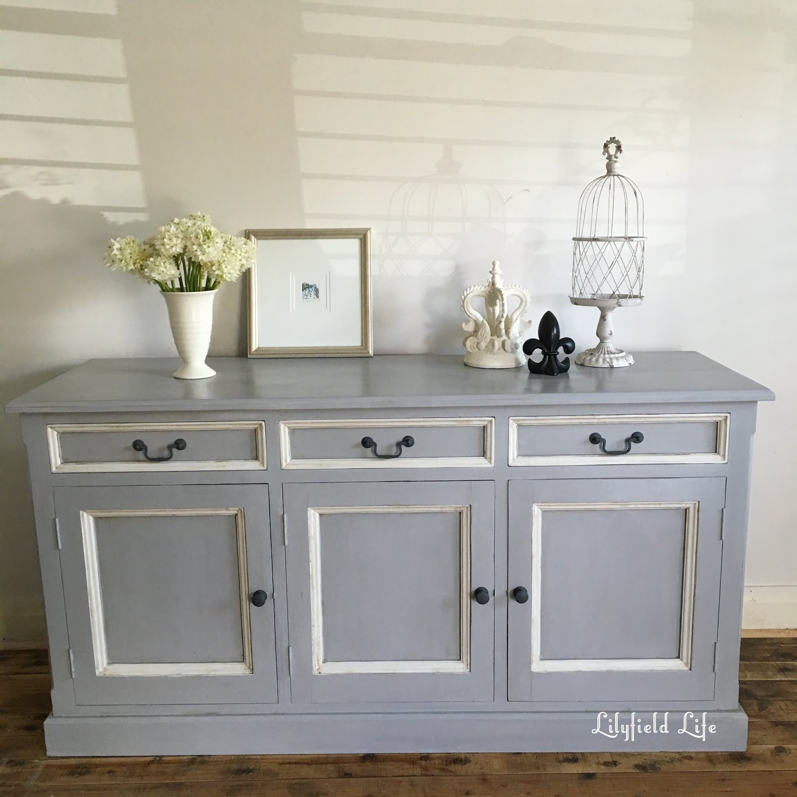 Lilyfield life painted pine sideboard before and after for Painted buffet sideboard