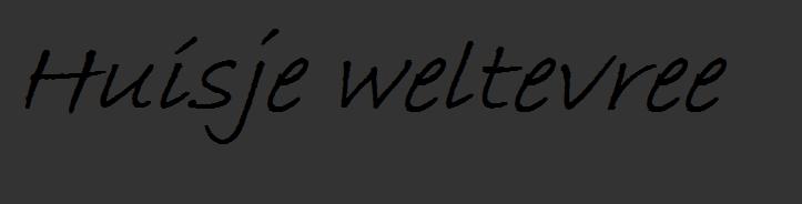 Huisje Weltevree