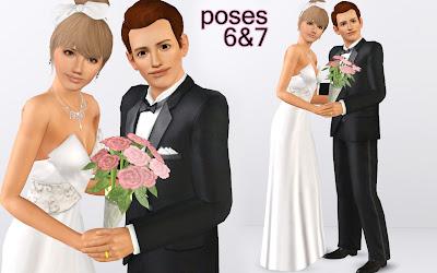 Wedding Pose Pack by Traelia 6%2525267