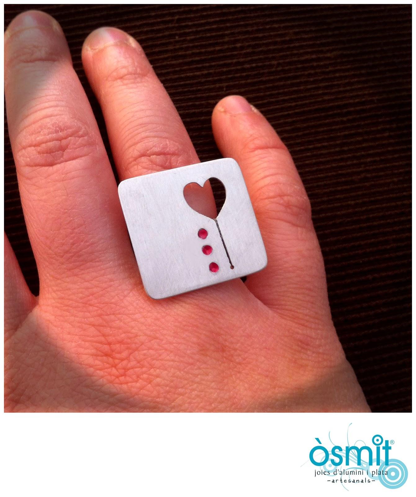 osmit joyas anillo artesanal