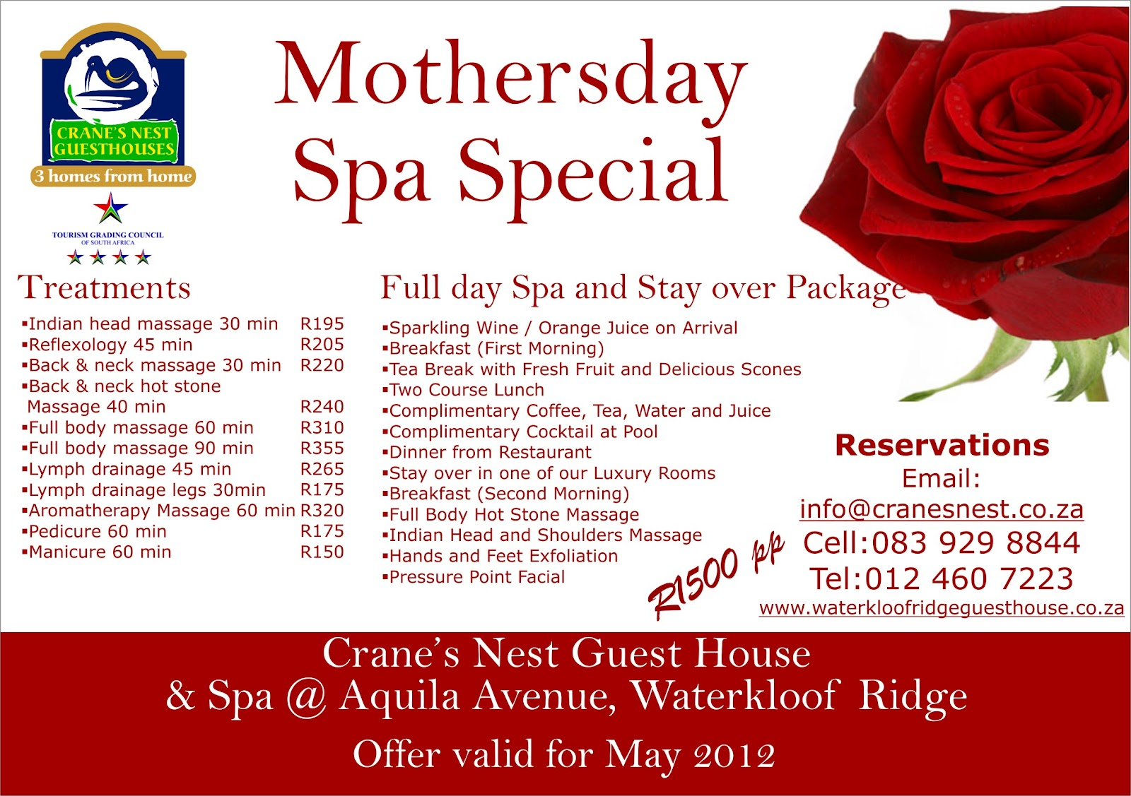 Mothers And Daughter Spa Packages Pretoria