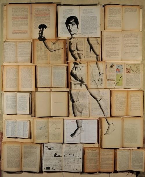 02-Russian-Artist-Ekaterina-Panikanova-Book-Page-Drawings-www-designstack-co