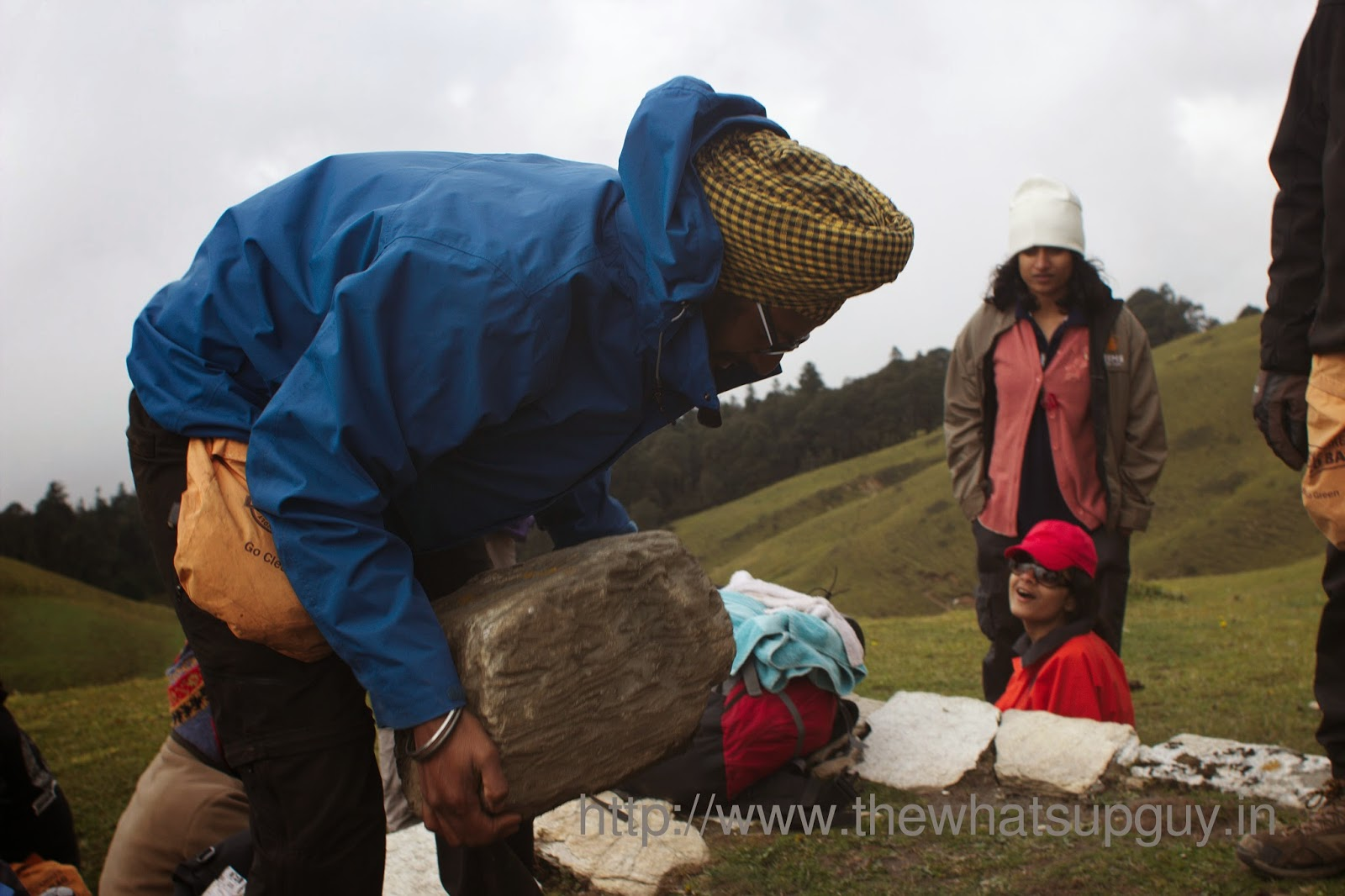 Saranbir-Singh-Ali-Bugyal-Roopkund-Trek-With-India-Hikes-Day-2