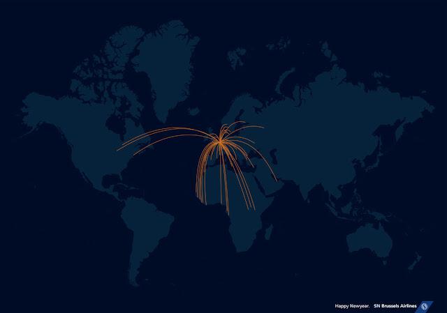 aerolínea, rutas a Europa, Asia, América