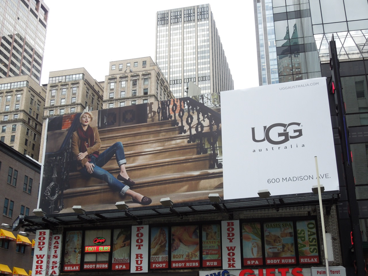 ugg shop times square