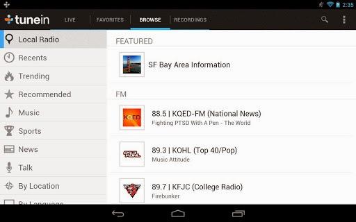 TuneIn Radio Pro v7.3 Pro Apk İndir