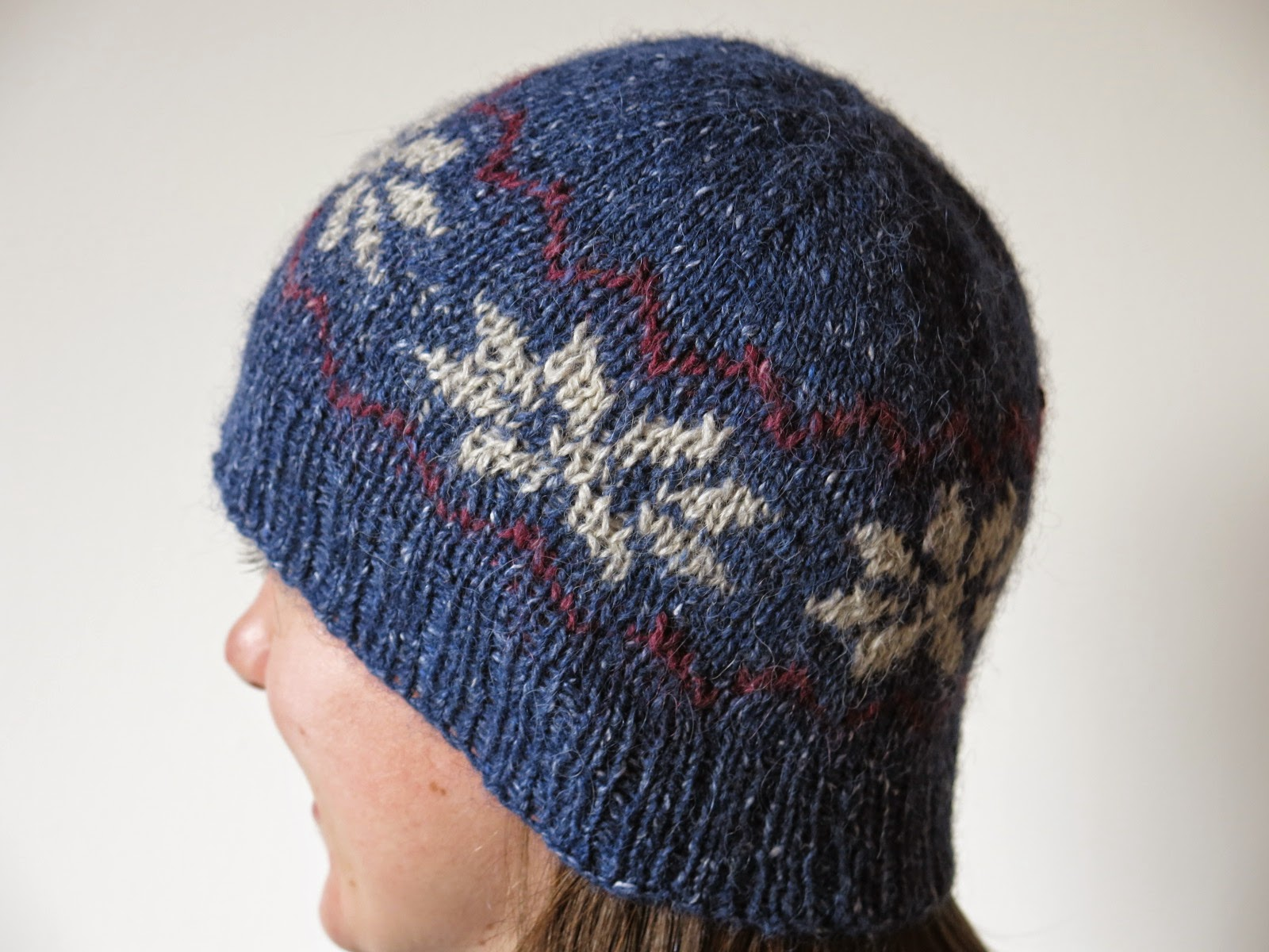 fairisle fair isle hat knitting pattern