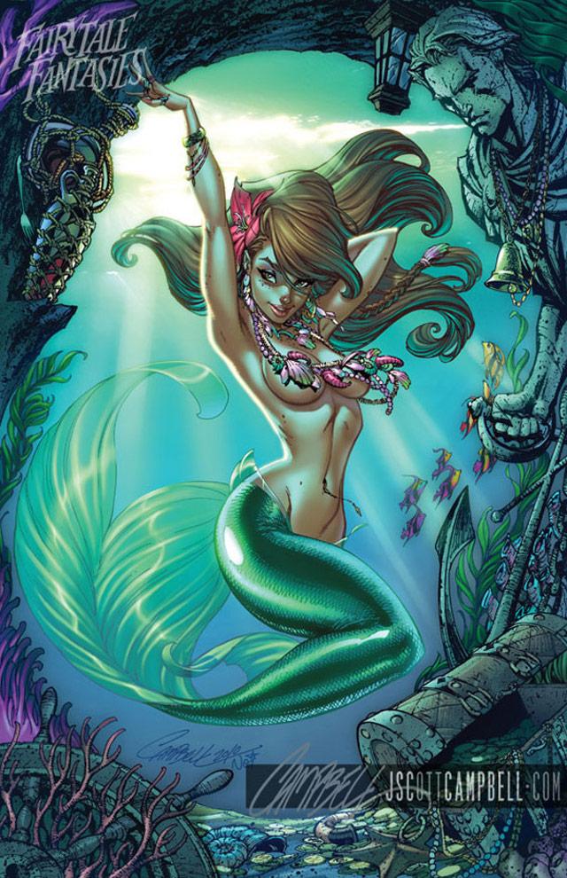 Yannah: Disney Princesses by J. Scott Campbell | Disney