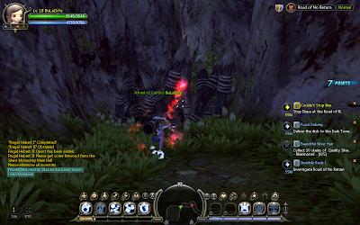 Dragon Nest - Napalm Bomb Skill