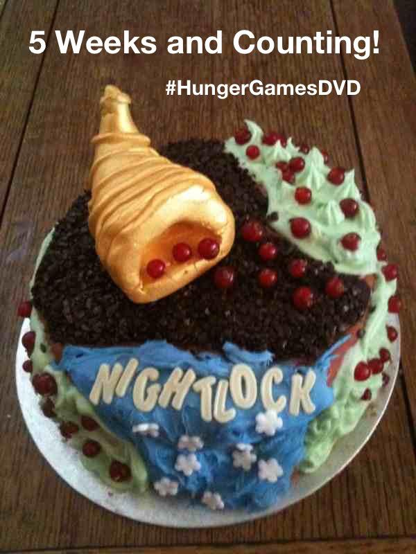 Hunger Games, #hungergamesdvd, Five weeks