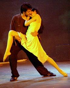 curso intensivo de tango-teatro en la Yumba Barcelona
