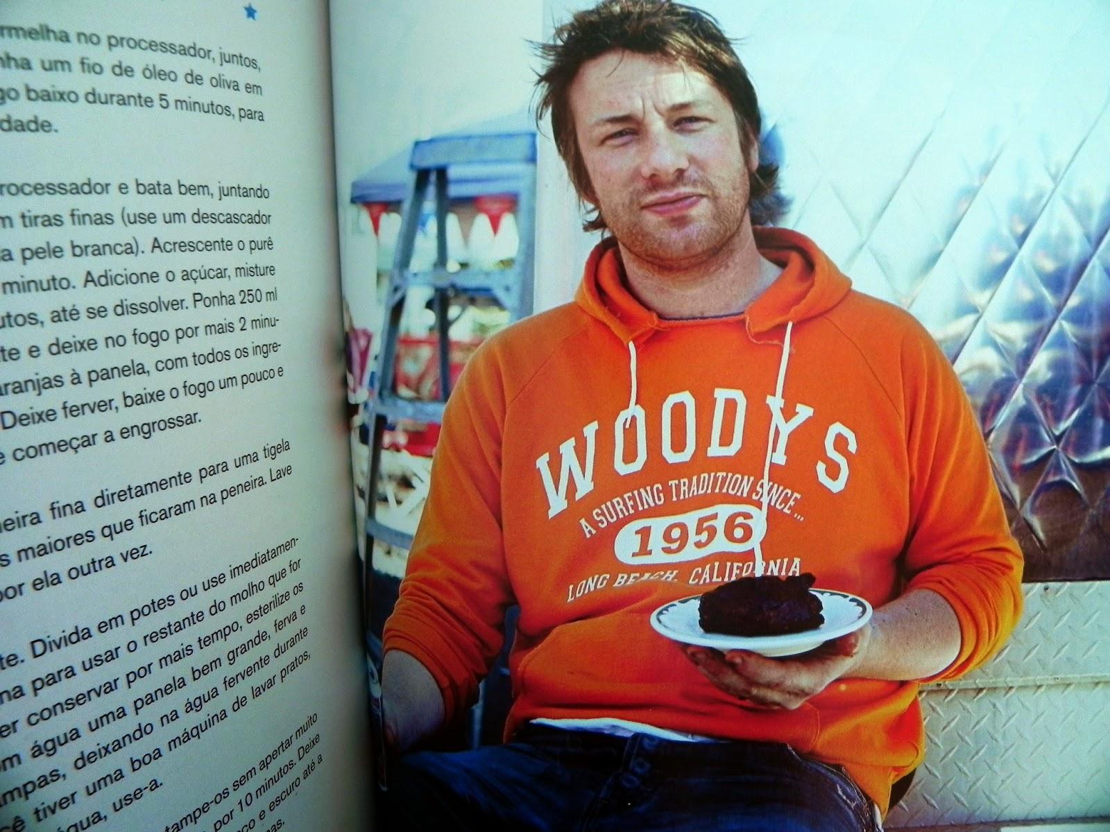 foto livro de receita jamie oliver