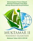 Sukseskan Mukhtamar II Wahdah Islamiyah Indonesia