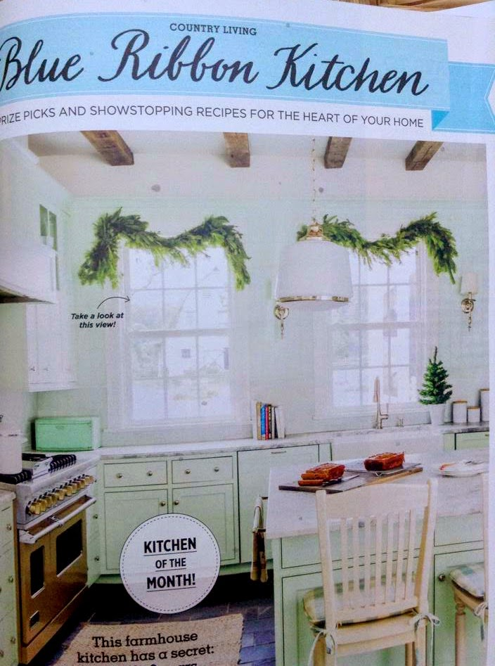 Blue Ribbon Kitchen Country Living Magazine And Me