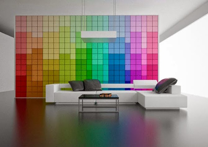 bedroom designs futuristic color pallette wall partition design