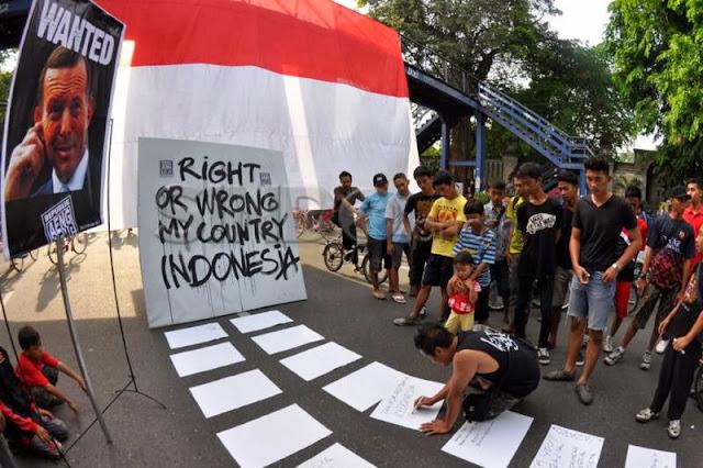 Penyadapan Australia, Indonesia cepat sekali melunak
