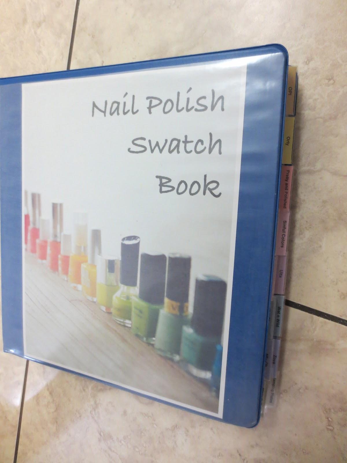 Polish puppies nail polish swatch book nail polish swatch book solutioingenieria Choice Image