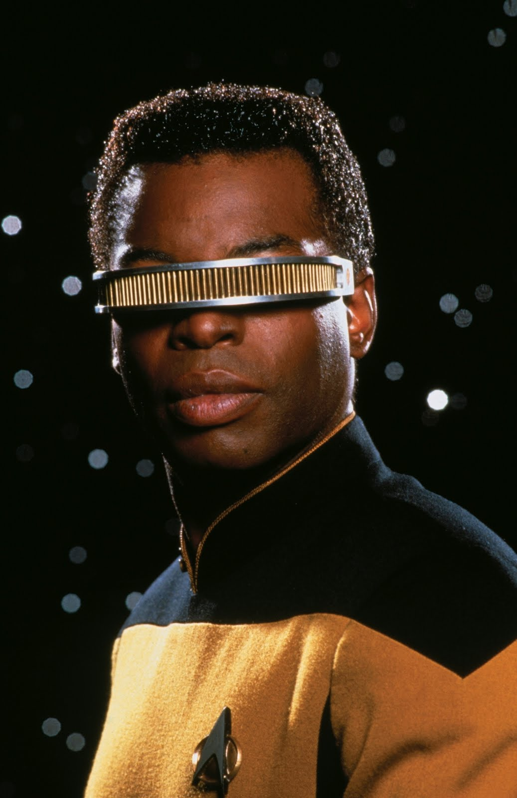 Geeky Craft Corner Make Your Own Geordi La Forge Visor