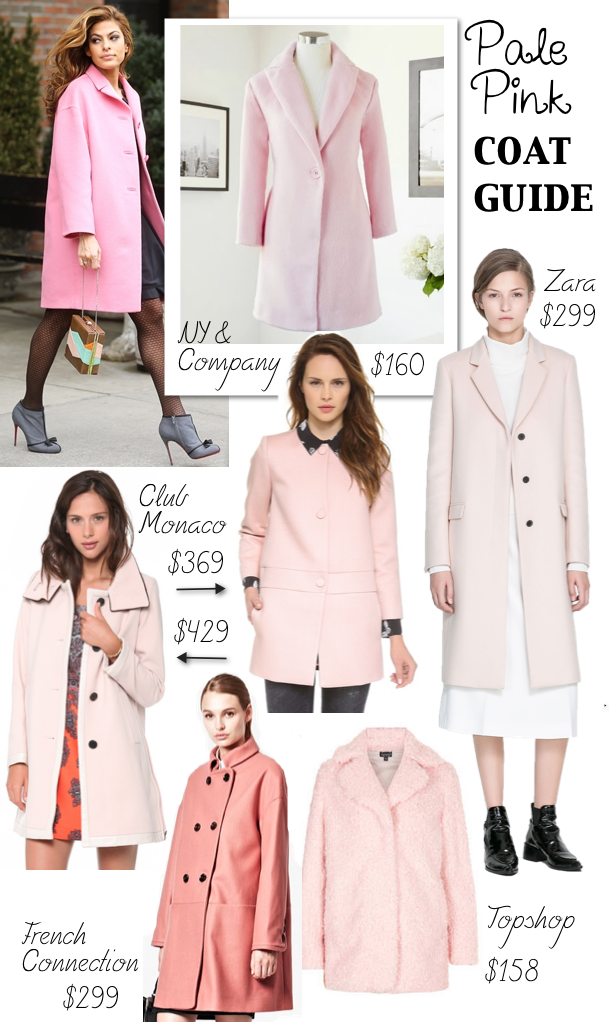 Pale Pink Coat Guide - Katie's Bliss