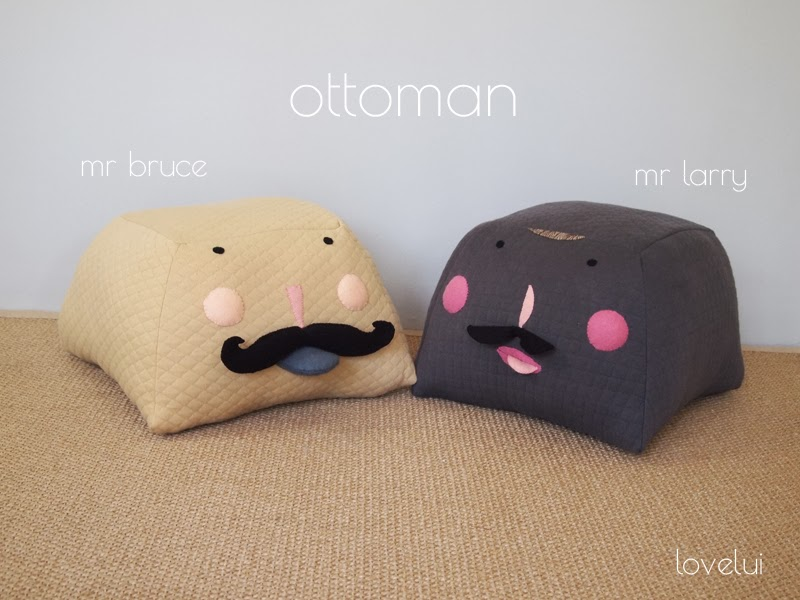 ottoman kids room decor