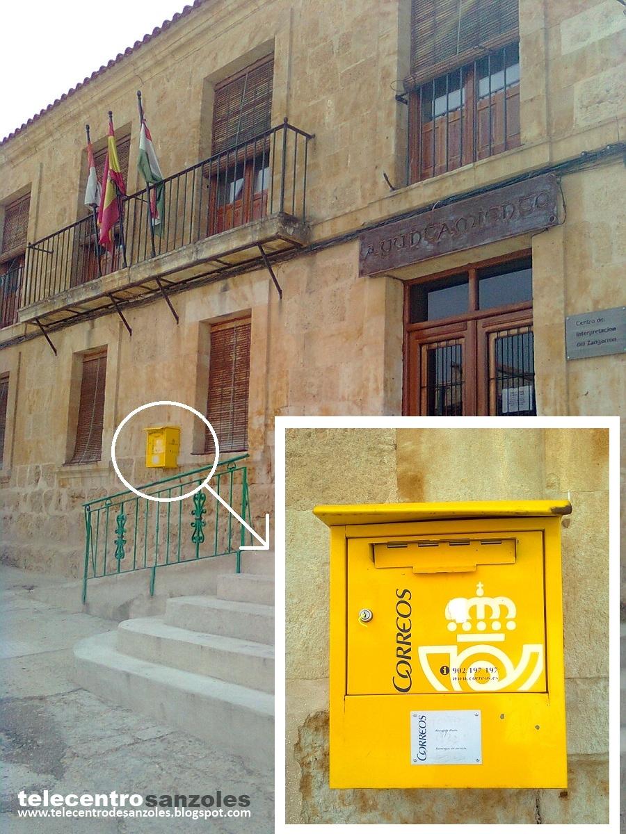 Blog del telecentro de sanzoles nueva ubicaci n del buz n for Ubicacion de las oficinas