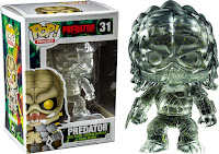 Funko Pop! Clear Predator with Green Splatter
