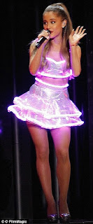 fashion, light up gown, LED gown