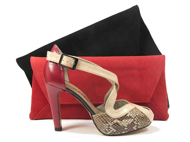 zapatos de fiesta rojos nuria cobo