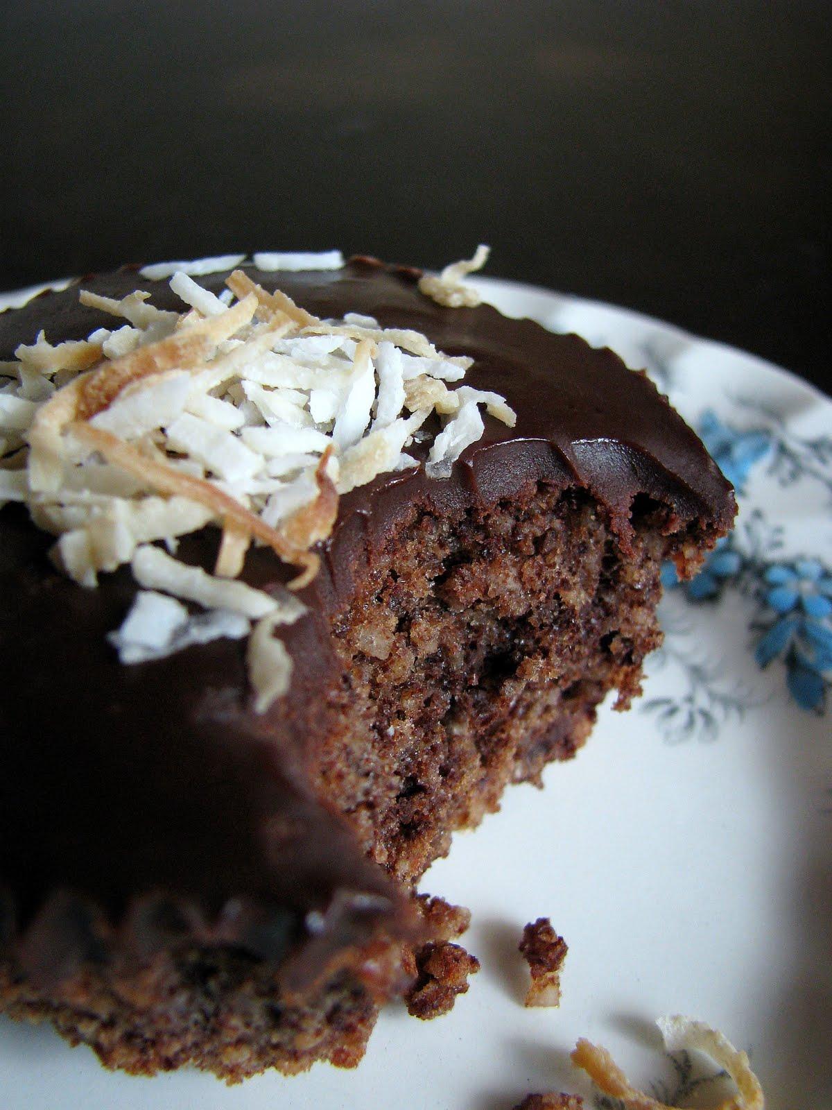 flourless chocolate coconut cupcake recipe – My Darling Lemon Thyme
