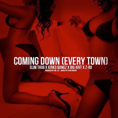 Slim Thug - Coming Down (feat. Z-Ro, Big K.R.I.T. & Kirko Bangz) - Single Cover