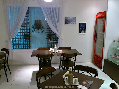 Santorini Café: Ambiente
