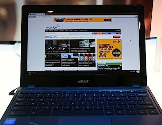 Acer Keluarkan Chromebook Pertama Dengan Prosesor Jasus Haswell
