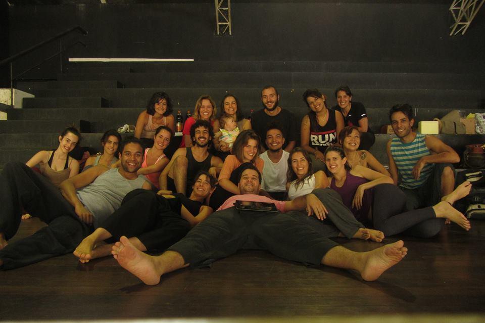 Reunião A.S.Q 2013 ex bailarinos, ex integrantes do núcleo de formação e atuais