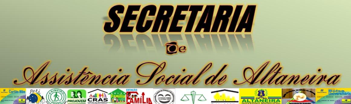 Secretaria de Assistênia Social de Altaneira