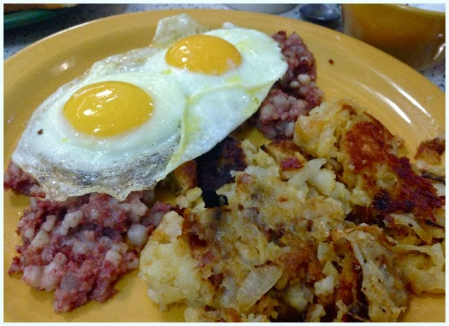 Tick Tock Diner, New York - Corned Beef Hash