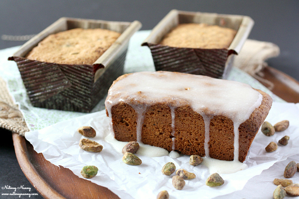 Pistachio Pound Cake - Baked New England