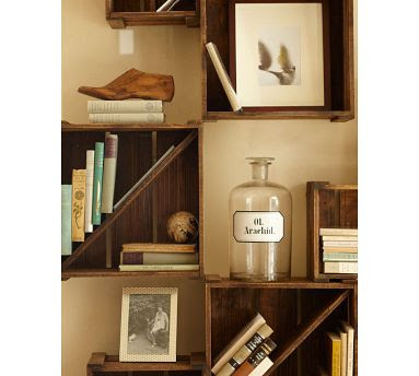 Decorating small spaces inspiration from nine tiny houses for Wooden soda crate ideas