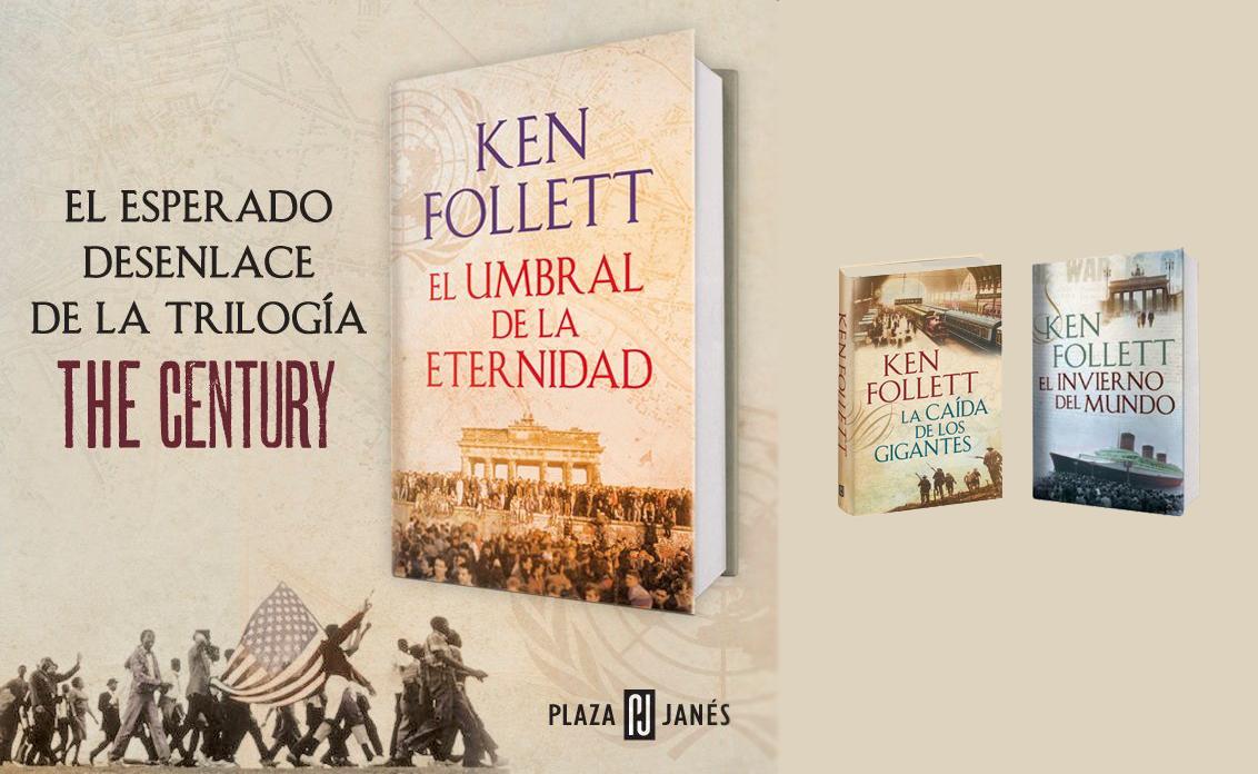 Llega el desenlace de la trilogía The Century, de Ken Follett  Ken+follett+hs