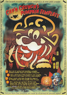 Back of Cap'n Crunch's Halloween Crunch 2015 box