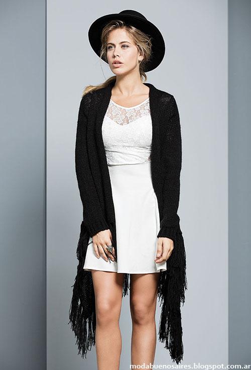 Vestidos cortos casualees moda invierno 2015 Tabatha.