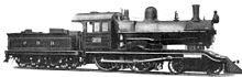 Locomotora Compound de vapor