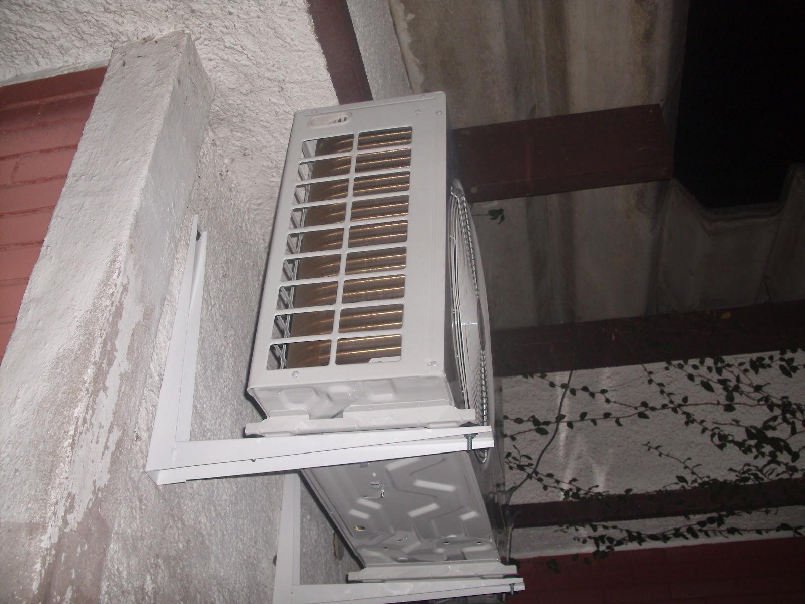 Split LG 18.000 Btu Q/F instalado na Rua Cuba - Quitandinha - Petrópolis-RJ