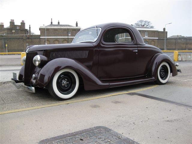 1936 Ford 3 Window Coupe for Sale
