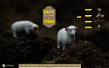 Desktop Wallpaper Calendar: March 2011 (Smashing Magazine)